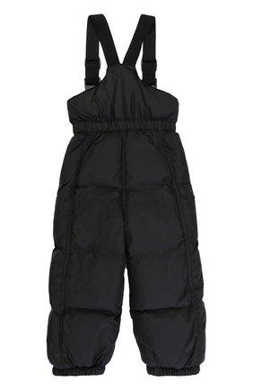 Детский пуховый комбинезон MONCLER ENFANT черного цвета, арт. C2-951-14331-05-68352   Фото 2
