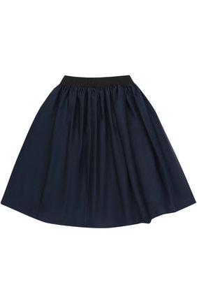 Мини-юбка свободного кроя с эластичным поясом   Фото №2