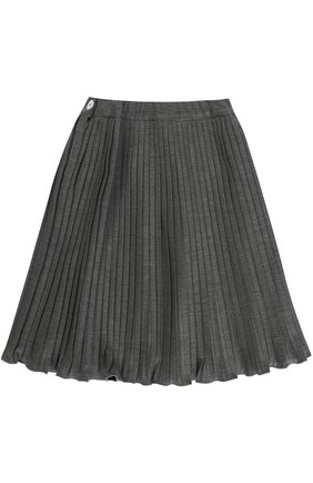Плиссированная юбка из вискозы | Фото №1