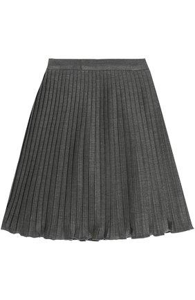 Плиссированная юбка из вискозы | Фото №2