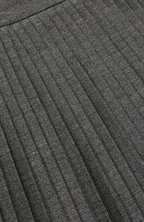 Плиссированная юбка из вискозы | Фото №3