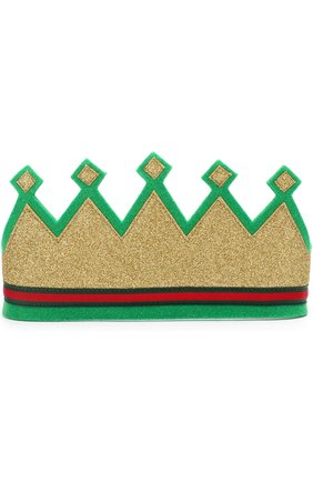 Повязка на голову в виде короны   Фото №1