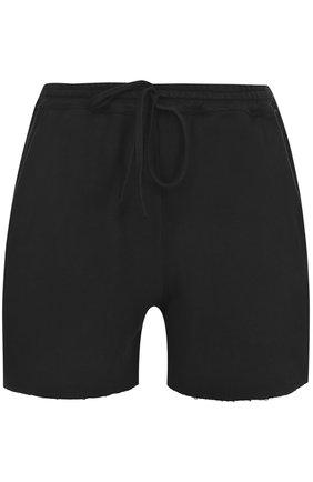 Хлопковые мини-шорты с карманами | Фото №1