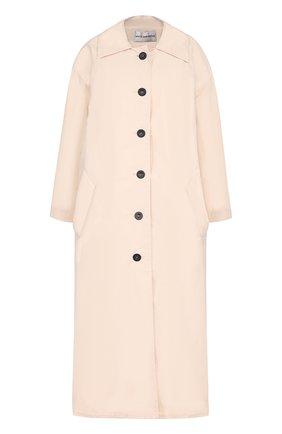Пальто свободного кроя с контрастными пуговицами Walk of Shame розового цвета | Фото №1