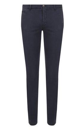 Хлопковые брюки прямого кроя