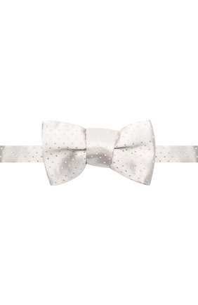 Шелковый галстук-бабочка Charvet фиолетового цвета | Фото №1
