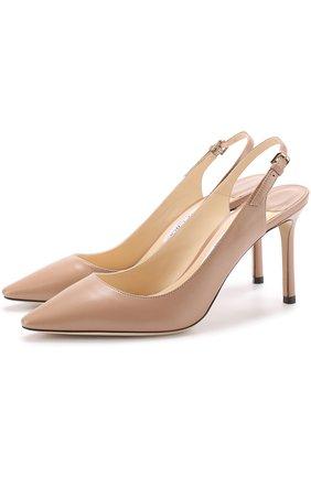 Кожаные туфли Erin 85 на шпильке   Фото №1