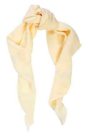 Хлопковый платок с принтом | Фото №1