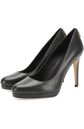 Кожаные туфли Antonoitte на шпильке | Фото №1
