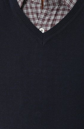 Пуловер из смеси хлопка и кашемира   Фото №5