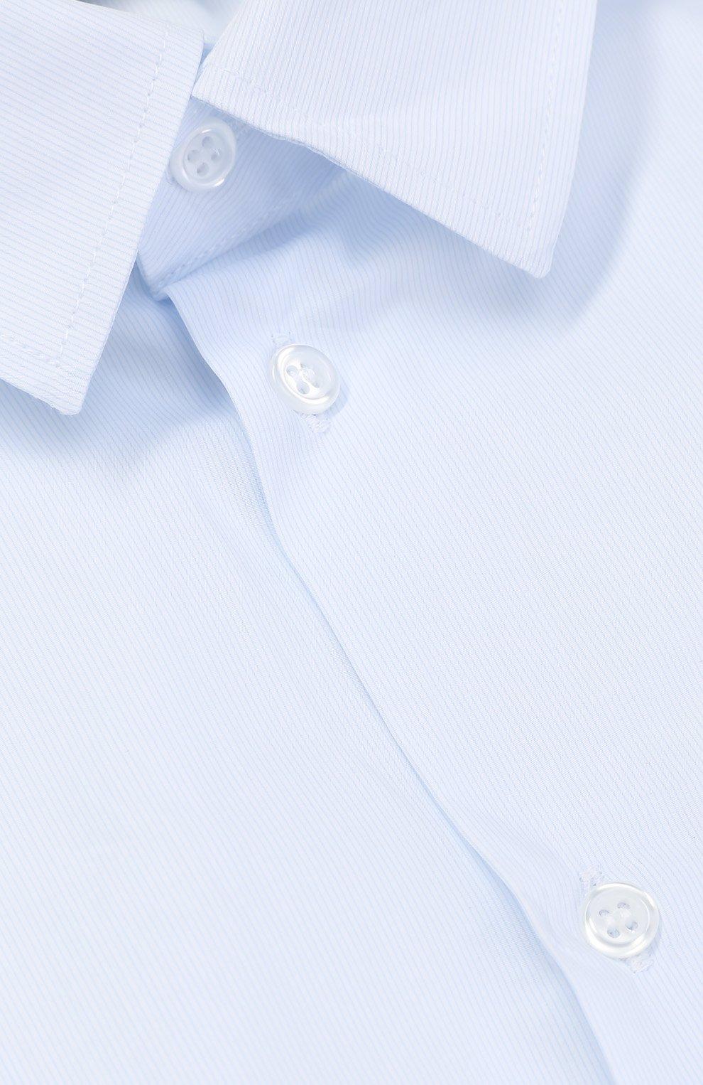 Хлопковая рубашка прямого кроя | Фото №3