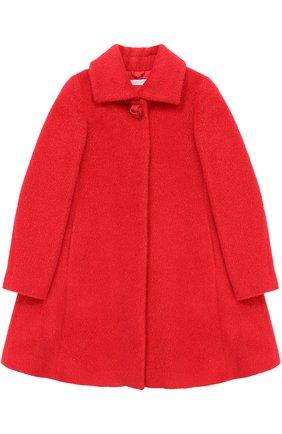 Шерстяное пальто свободного кроя | Фото №1