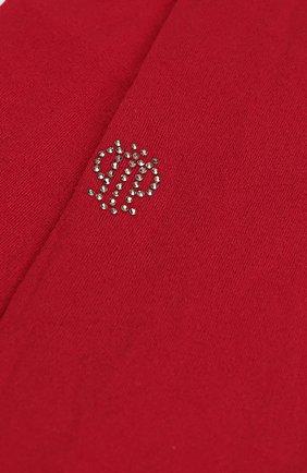 Детские колготки со стразами I Pinco Pallino красного цвета | Фото №1