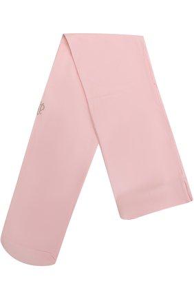 Детские колготки со стразами I Pinco Pallino розового цвета | Фото №1