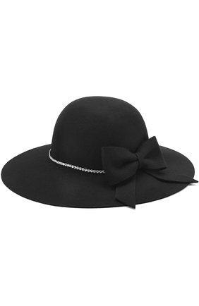Шляпа с бантом и стразами | Фото №1