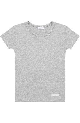 Однотонная футболка | Фото №1