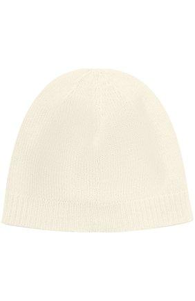 Кашемировая шапка с вышивкой и декором Dolce & Gabbana белого цвета   Фото №2