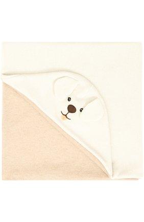 Кашемировое одеяло с принтом и декором   Фото №1