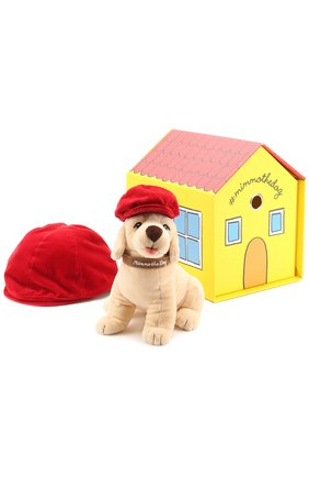 Детского комплект из трех игрушек и кепи DOLCE & GABBANA бежевого цвета, арт. 0131/LN1G14/FUVHP | Фото 1