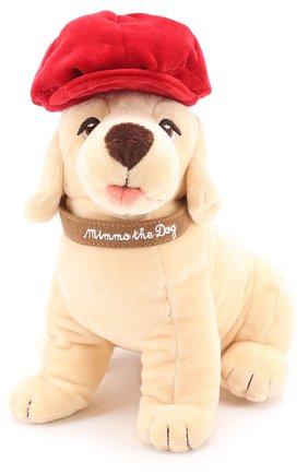 Комплект из трех игрушек и кепи Dolce & Gabbana бежевого цвета | Фото №4