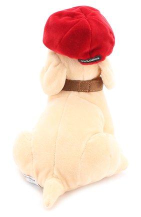 Комплект из трех игрушек и кепи Dolce & Gabbana бежевого цвета | Фото №5