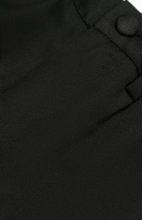 Шерстяной фрак с отделкой из шелка Dolce & Gabbana черного цвета | Фото №7