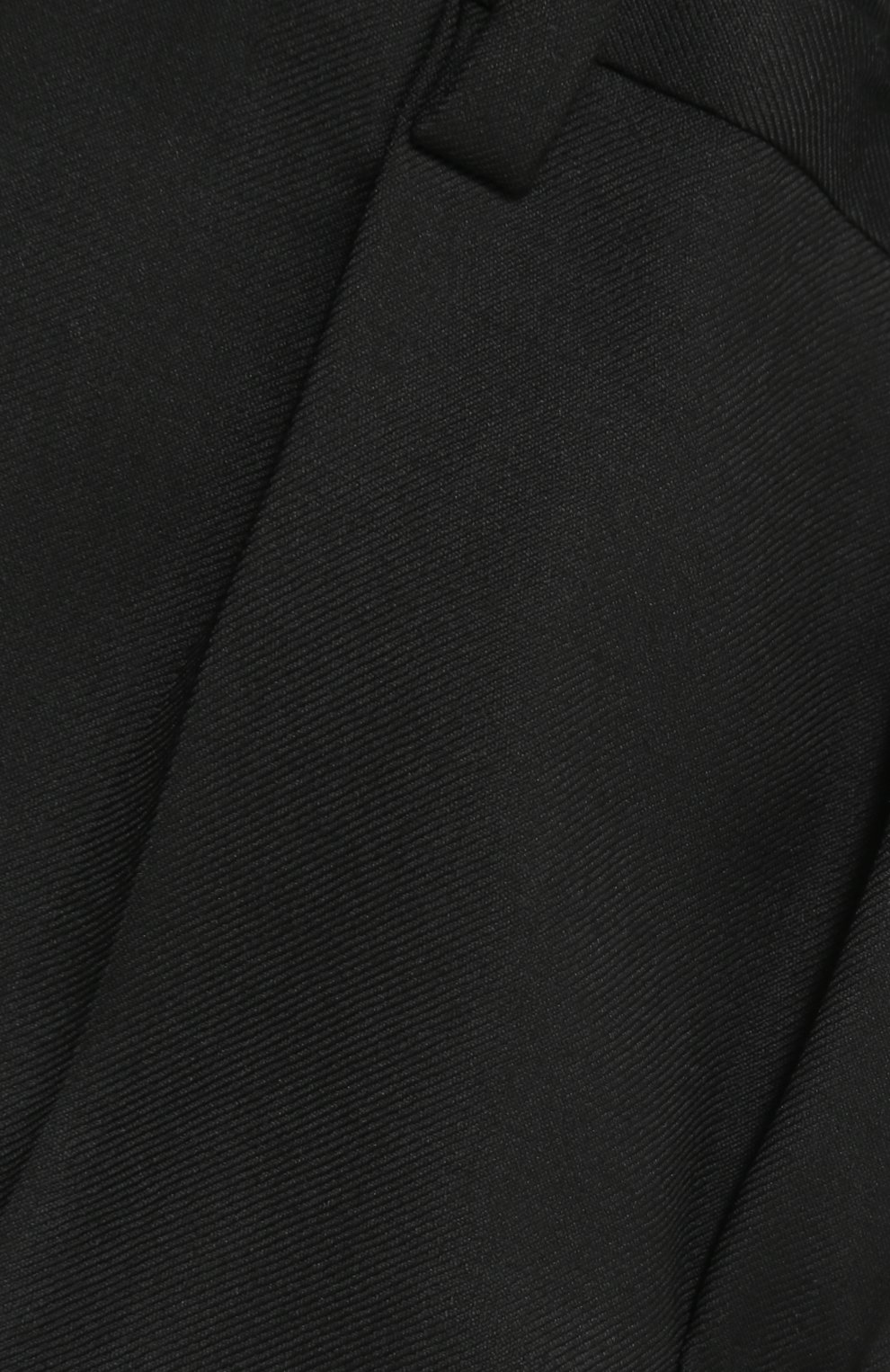 Шерстяной фрак с отделкой из шелка | Фото №4