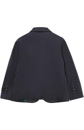 Однобортный пиджак из хлопка   Фото №2