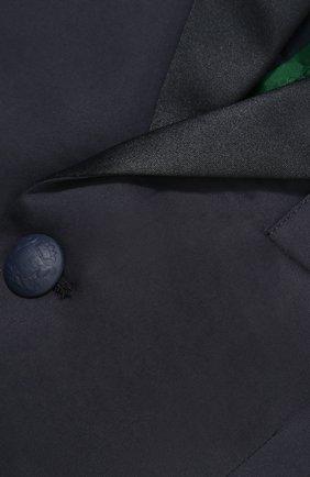 Однобортный пиджак из хлопка   Фото №3