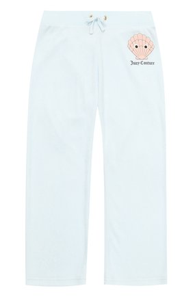 Спортивные брюки прямого кроя с принтом | Фото №1