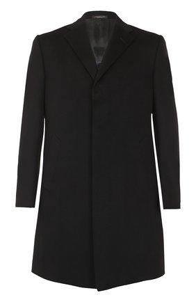 Кашемировое пальто прямого кроя