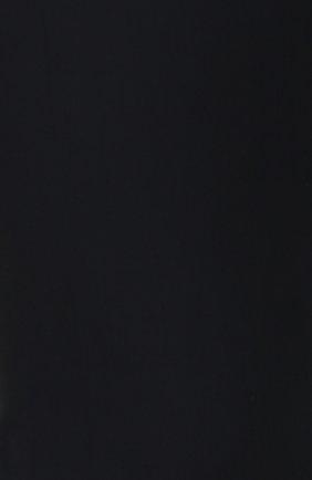Хлопковые брюки прямого кроя Dolce & Gabbana синие | Фото №5