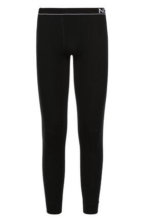 Мужские шерстяные кальсоны NORVEG черного цвета, арт. 14SM003RU | Фото 1