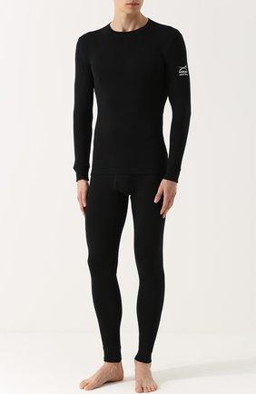 Мужские шерстяные кальсоны NORVEG черного цвета, арт. 14SM003RU | Фото 2