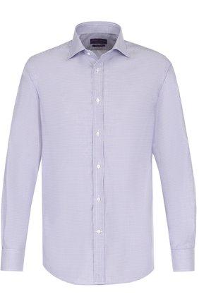 Мужская хлопковая сорочка с воротником кент RALPH LAUREN белого цвета, арт. 791668875 | Фото 1