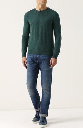 Мужские джинсы RALPH LAUREN синего цвета, арт. 790563748 | Фото 2