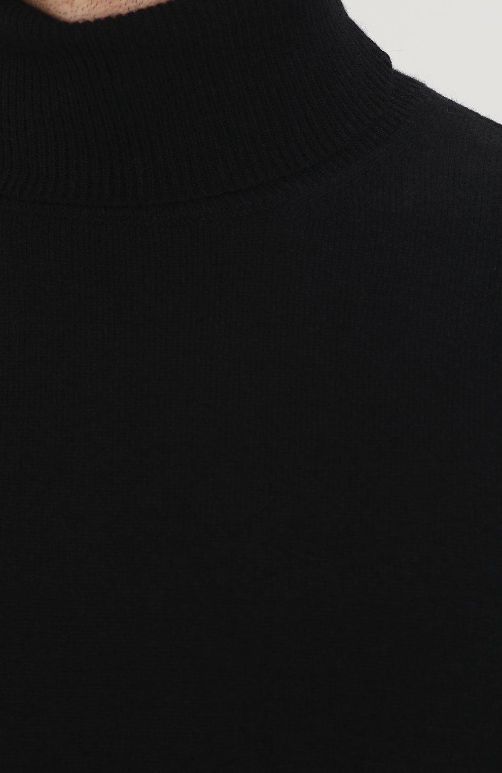 Свитер из смеси шерсти и кашемира с замшевыми заплатками | Фото №5