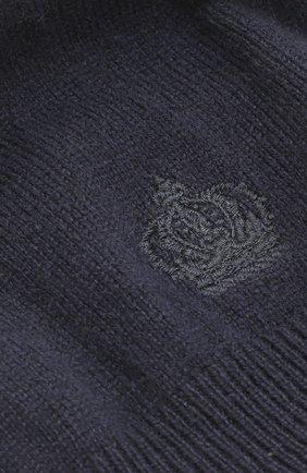 Кашемировая шапка Dolce & Gabbana синего цвета | Фото №3