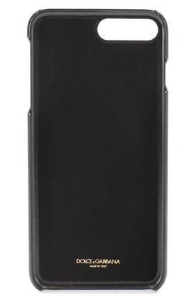 Кожаный чехол для iPhone 7 с принтом Dolce & Gabbana    Фото №2