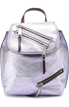 Рюкзак из металлизированной кожи | Фото №1