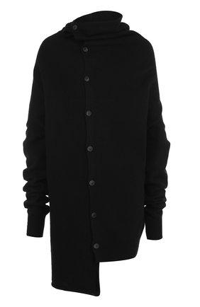 Шерстяной свитер асимметричного кроя | Фото №1