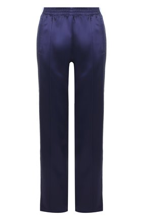 Двусторонние шелковые брюки прямого кроя | Фото №1