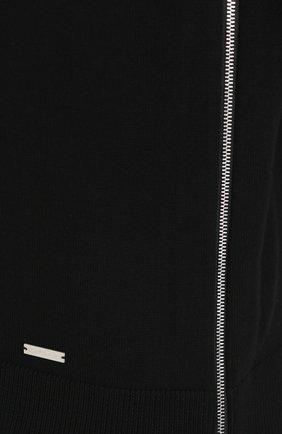 Шерстяной джемпер с круглым вырезом   Фото №5