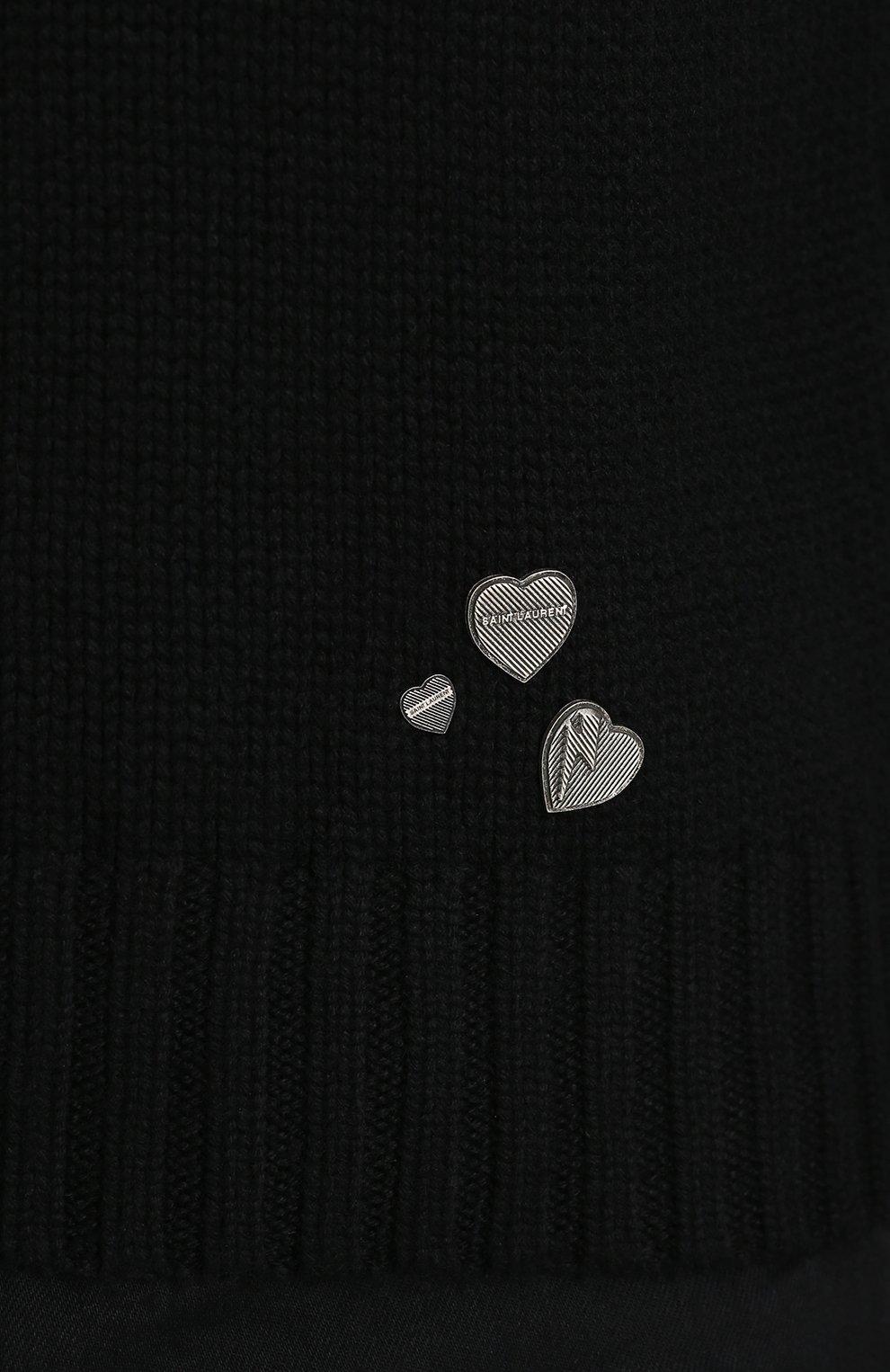 Кашемировый свитер с высоким воротником | Фото №5