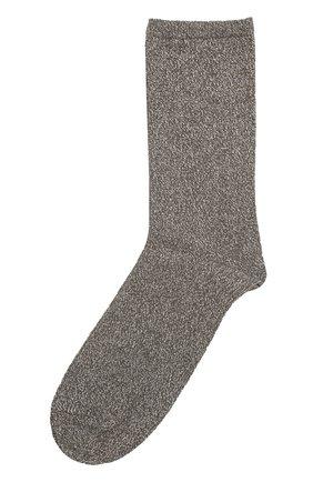 Хлопковые носки с принтом | Фото №1