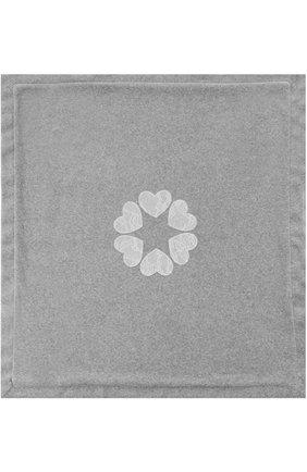 Детского одеяло из хлопка с кружевной отделкой ALETTA серого цвета, арт. RL777023CIN | Фото 2