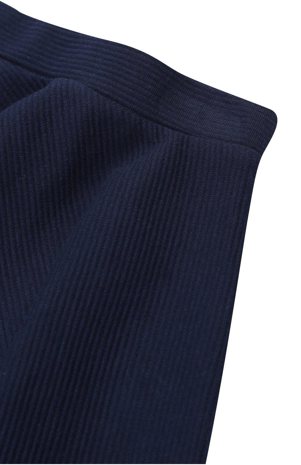 Хлопковая мини-юбка свободного кроя   Фото №3