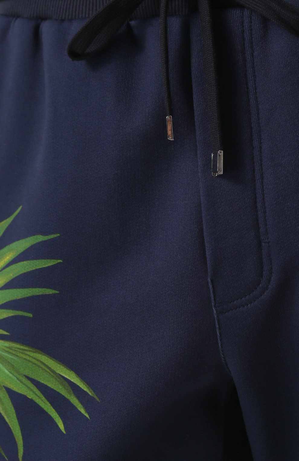 Хлопковые брюки с принтом Dolce & Gabbana разноцветные   Фото №5