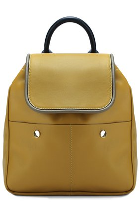Кожаный рюкзак с заклепками   Фото №1