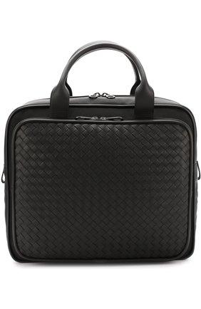 Текстильная дорожная сумка с кожаной отделкой | Фото №1